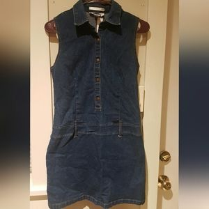 Old Navy denim stretch dress
